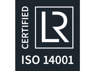 ISO 14001 Certified. A international standard that specifies requirements for an effective environmental management system (EMS).